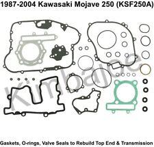 +0.25mm Top End Rebuild Kit Kawasaki Mojave 250 87-04 74.25mm 54-257-11