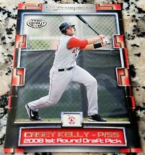 CASEY KELLY 2008 Tristar #1 Draft Pick Rookie Card RC LOT GIANTS Boston Red Sox