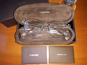 Authentic TOM FORD Frame TF 5401 Col. 020 CLEAR PLASTIC