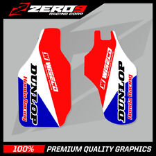 HONDA CR CRF 125 250 450 LOWER FORK DECAL MOTOCROSS GRAPHICS MX TEAM ISSUE BLUE