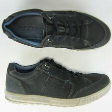 Ecco Us 8 8.8 EU 42 Men Sneaker Casual Shoe Comfort Lace Up Leather