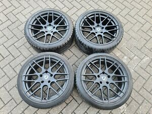 """Cades Artemis 18"""" staggered alloy wheels. 5x120 BMW 1 2 3 series E90 E87 E46 E92"""