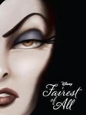 Disney Villains Fairest of All Novel, 1474821596, New Book