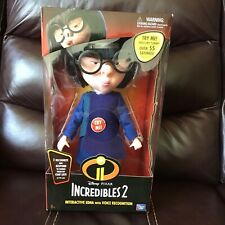 The Incredibles 2 Edna Disney Pixar Interactive Edna With Voice Recognition