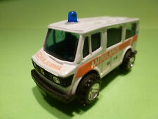 MADE IN CHINA MERCEDES - AMBULANCE WV GGD - RARE SELTEN - GOOD CONDITION