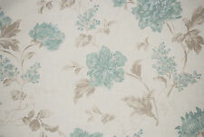 "John Lewis soft furnishing fabric ""Abberley"" Cotton/Linen, duck egg,by the metre"