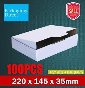 Diecut Mailing Box 220 x 145 x 35mm for DVD CD Video MAILER Bx6 x100