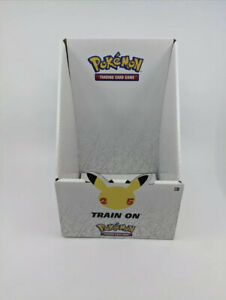 Pokemon TCG Trading Card Game Galar Partner Pack 25th Display Box Case Only