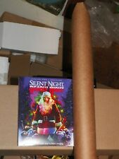 New Unopened Silent Night Deadly Night 1 & 2 Blu Ray +Posters Shout Factory Excl