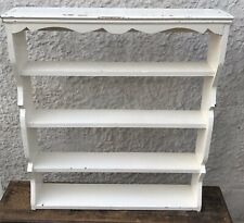 Pretty Vintage Chippy Painted Shelf
