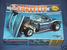 Car Kit VINTAGE MPC 60 FLIP-NOSE CLASSIC CORVETTE STREET RACER SEALED