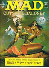 DON MARTIN MAD N° 250 FEBRUARY 1983 BRITISH EDITION CUTS THE BALONEY TBE