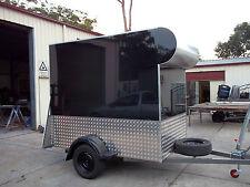 8x5 enclosed trailer 750 kg GVM