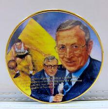 John Wooden Ucla Purdue Indiana State Gartlan Plate