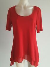CLARITY A-Symmetrical Tunic Top - Size S