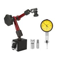 Flexible Magnetique Base Support Stand et Indicateur à Cadran Comparateur Test♥
