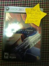 Perfect Dark Zero Collectors edition Xbox 360 Complete