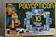 Toy Microscope Telescope 10 Building Kit Polyopticon Optical Science Home School