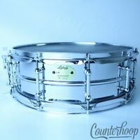 "Ludwig Brass Edition Supraphonic Snare Drum 14x5""Monroe Tube Lugs LB400BT COB90s"