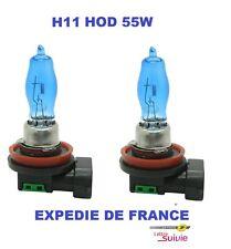 2 AMPOULES XENON HOD H11 55W +30% SUPERWHITE NEUF