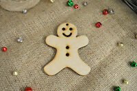 Christmas Hanging Gingerbread Man – MDF X5 Ready To Decorate, Tree Decorations
