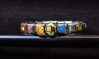 Completed Italian Charm Bracelet - Casa D'Oro, JAD, Uberry, Ciao Italia   USED