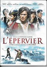 2 DVD ZONE 2--FEUILLETON TV--L'EPERVIER--CLAVIER/WIIK/CALETTE/DOILLON