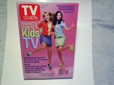 1997 TV GUIDE Kids' TV Alex Mack Shelby Woo,larisa oleynik,irene ng,c.electra