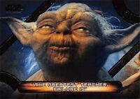 Star Wars Galactic Files (2018) QUOTES Insert Card MQ-6 / YODA