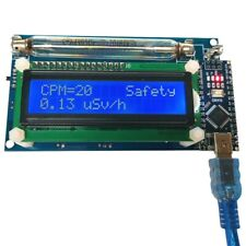 Open Source Geiger Counter Radiation Detector DIY Module with LCD Assembled Xr