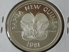 1981 PAPUA NEW GUINEA 5 KINA SILVER PROOF CHILD FISH IYC UNICEF 40mm MINT=8,775