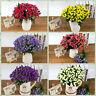 6 Heads Wedding Artificial Silk Rose Flower Bouquet Home Party Outdoor Decor New