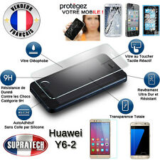 Protection d'Ecran en Verre Trempé Contre les Chocs pour Huawei Y6-2