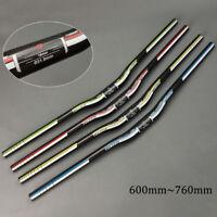 TOSEEK 31.8 * 600-760mm CarbonT800 Fahrrad Lenker  MTB Radfahren Flat/Riser Bar