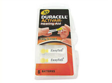 30 Duracell Hearing Aid Batteries Activair EasyTab Pr70 Type 10 up to 2018