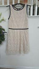 Speechless Girls Ivory Lace Dress  Size 15