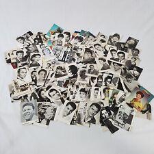Rare lot de plus de 210 cartes postales de stars chanteurs idoles années 50/60