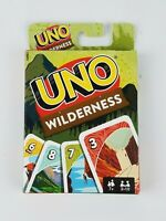 UNO Wilderness Family Card Game Rare Hard To Find