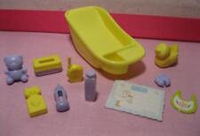 BARBIE Pregnant Midge BABY Doll INFANT HAPPY FAMILY Nursery Bathtub lot playset