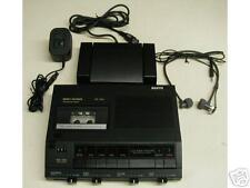SANYO TRC 7060 Minicassette transcriber ac, pedal, new headset WARRANTY