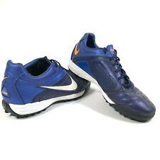 Nike Mens 6 Rare CTR360 Libretto ll Turf 429543-414 Blue Soccer Football Shoes
