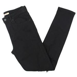 Levi Strauss & Co. Womens High Rise Denim Distressed Skinny Jeans BHFO 2850