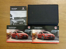 Vauxhall Astra Owners Handbook/Manual and Pack 13-16