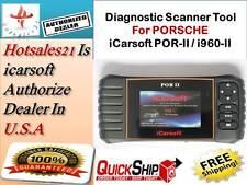PORSCHE Car Diagnostic Scanner tool SRS ABS ENGINE 2017 iCarsoft por-II ,i960-II