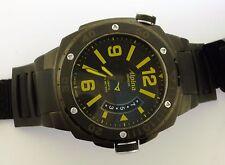 Alpina Extreme Diver 1000M Yellowtail Black PVD # AL-525LBY5FBAEV6