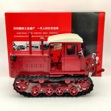 1:12 China Dongfanghong-54 Tracked Tractor Diecast Models Limited Collection