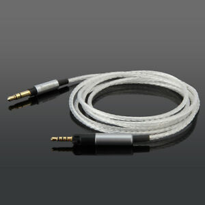 Replacement Silver Plated Audio Cable For Ultrasone Signature DJ & Performance