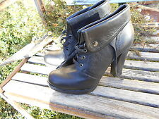 chaussures BATA TTBE talons 12 cms FETISH SEXY NOIRES TTBE 15€ ACH IMM ! FP COMP