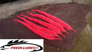 MAGNUM'S DRAGON TAILS Fly Tying Saltwater Freshwater Streamer Tail Pike 5 Pack