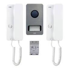 Grothe Audio-Set 1122/602HT Einfamilienhaus Sprechanlage 4+n weiß - neu
